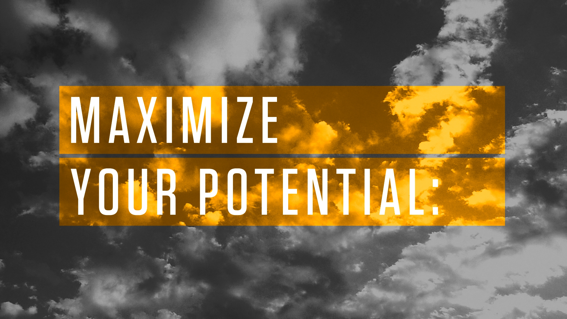 99U Maximize Your Potential